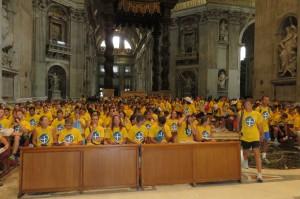 Professione di fede in San Pietro