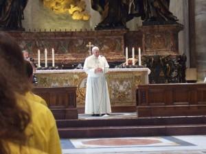 Papa Francesco ci viene a trovare!